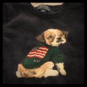 Ralph Lauren puppy sweater 24 months
